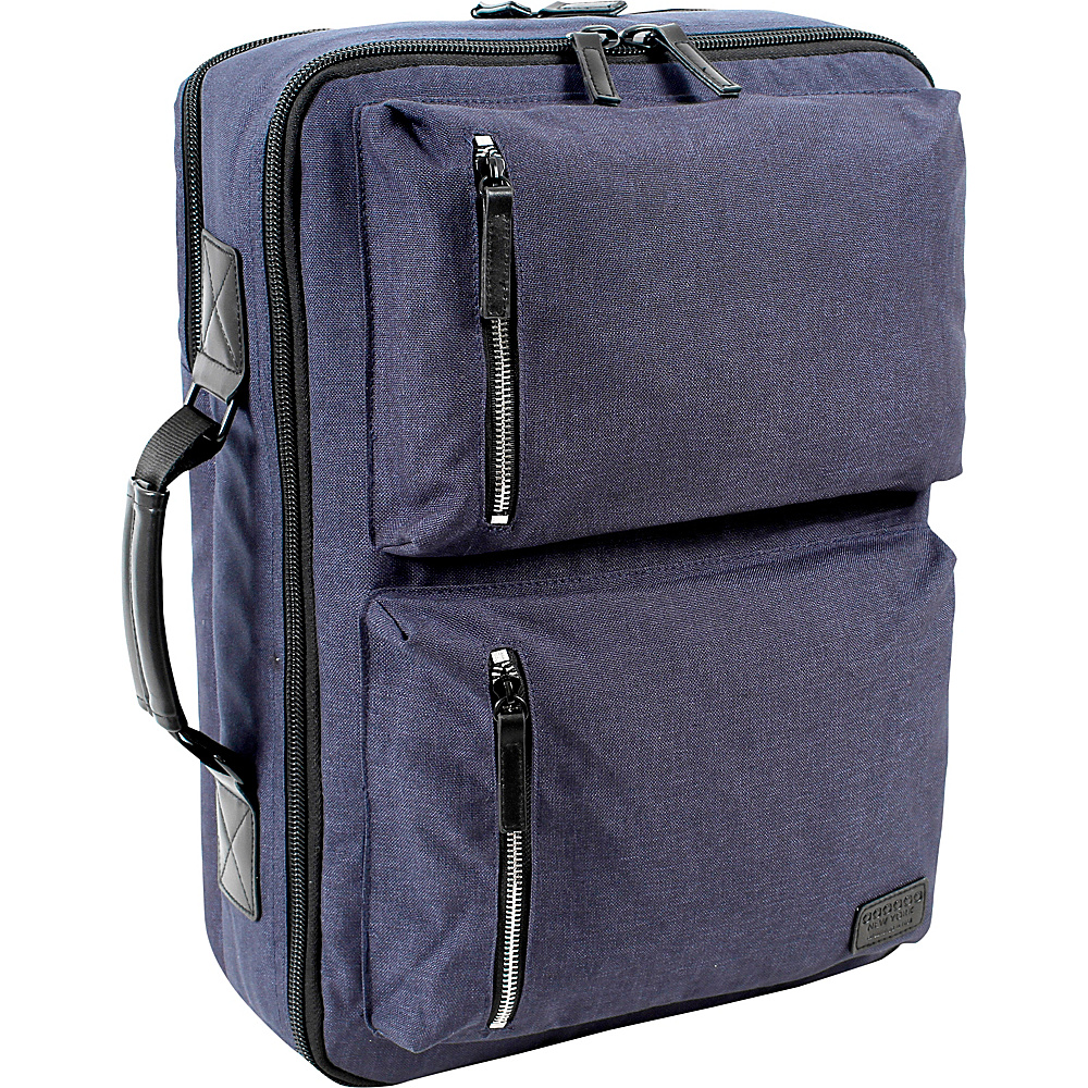 J World New York Station Convertible Laptop  Travel Backpack Navy - J World New York Business & Laptop Backpacks - Backpacks, Business & Laptop Backpacks