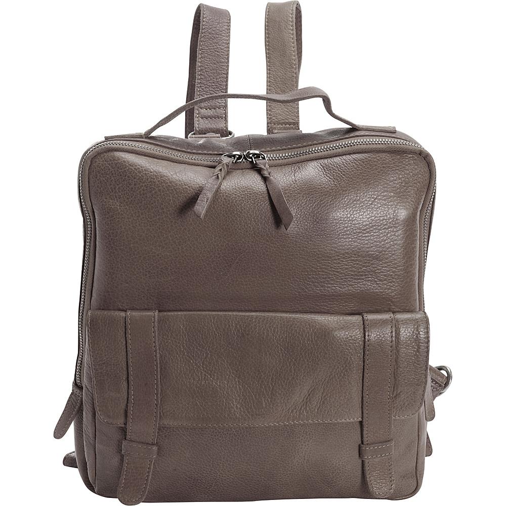Latico Leathers Hester Backpack Light Grey - Latico Leathers Leather Handbags