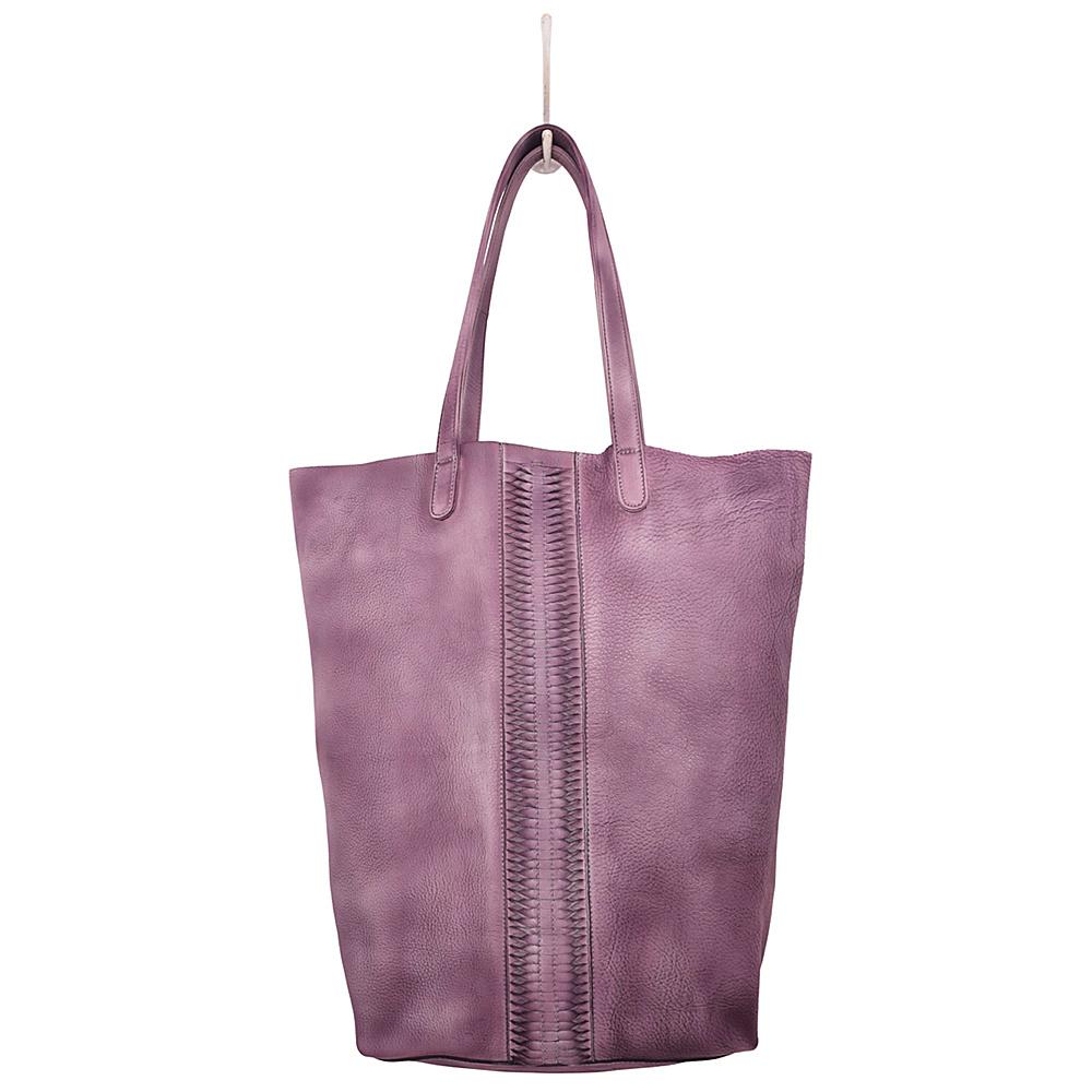 Latico Leathers Cortland Tote Washed Purple - Latico Leathers Leather Handbags - Handbags, Leather Handbags