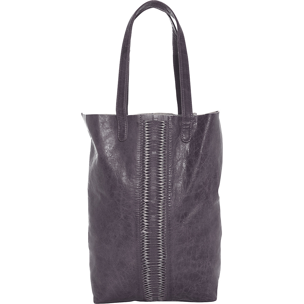 Latico Leathers Cortland Tote Washed Black - Latico Leathers Leather Handbags - Handbags, Leather Handbags