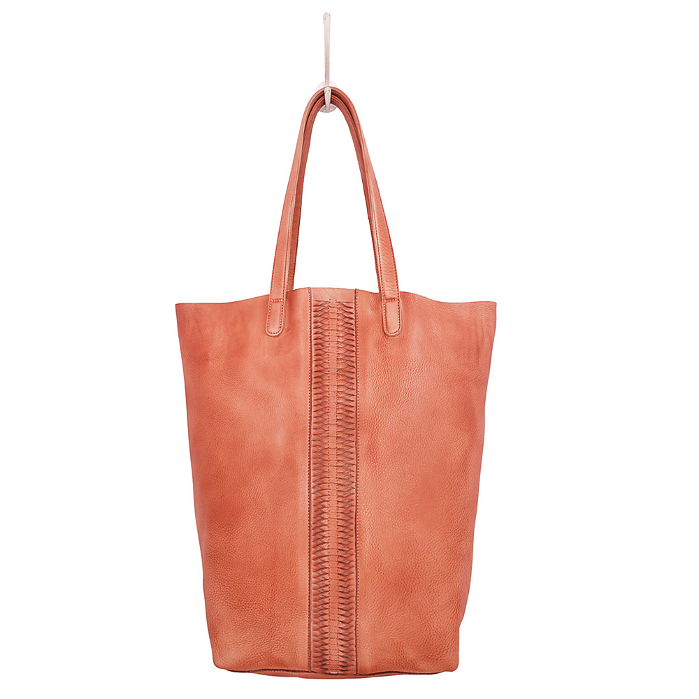 Latico Leathers Cortland Tote Washed Red - Latico Leathers Leather Handbags - Handbags, Leather Handbags