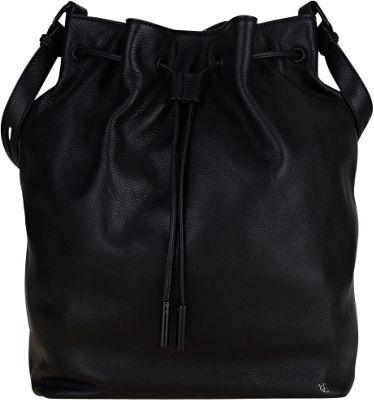 Elliott Lucca Marion Drawstring Black - Elliott Lucca Designer Handbags