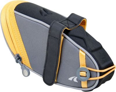 Detours Wedgie Seat Bag - Large Gray/Orange - Detours Other Sports Bags