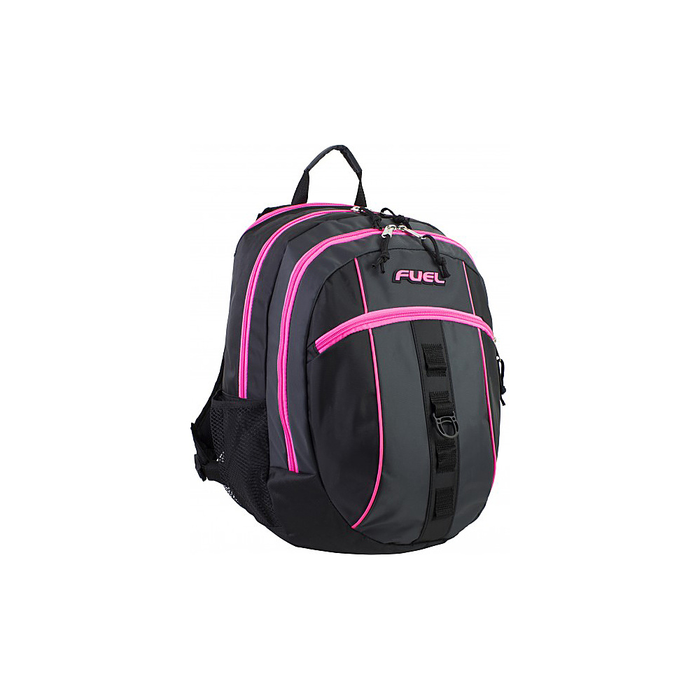 Fuel Active Backpack Black with Pink Sizzle Fuel Everyday Backpacks