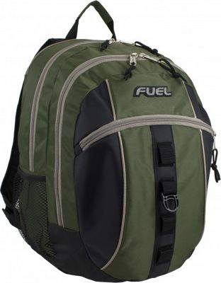 Fuel Active Backpack Army Green - Fuel Everyday Backpacks