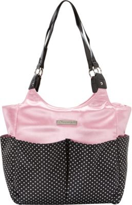 Smart Mommy Bags Pretty In Pink Diaper Bag Pink and Black - Smart Mommy Bags Diaper Bags & Accessories