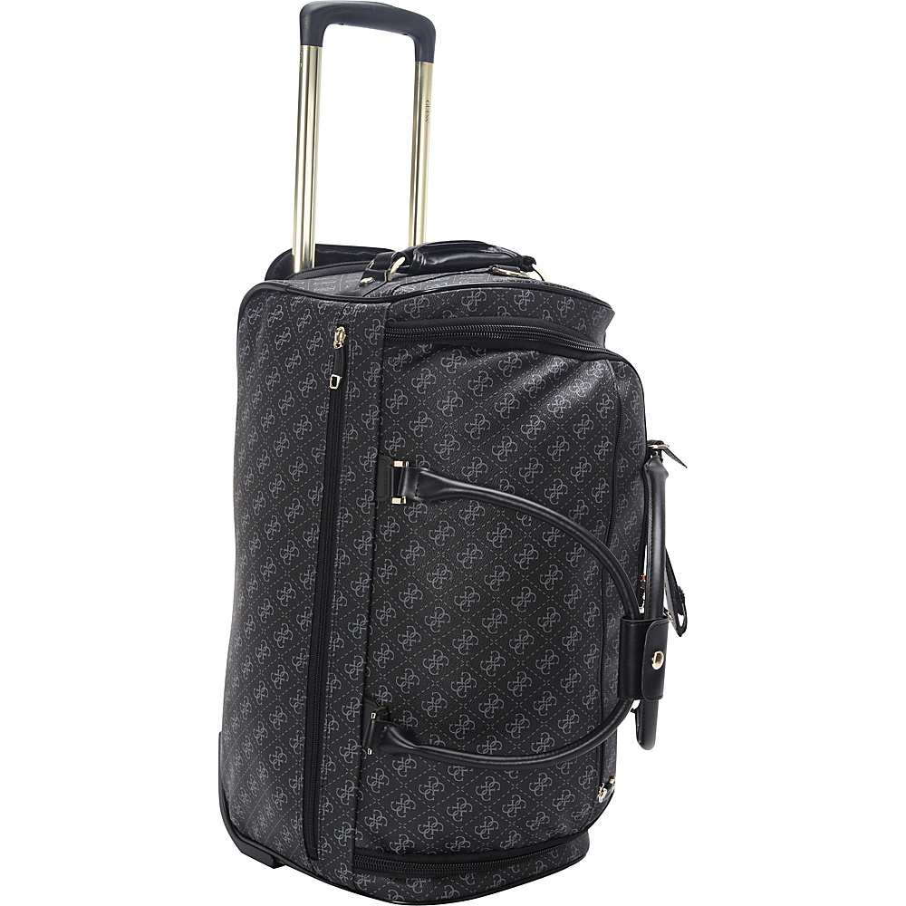 4193434d08 ... UPC 885935852210 product image for GUESS Travel Logo Affair Rolling  Duffle Black Multi - GUESS Travel ...