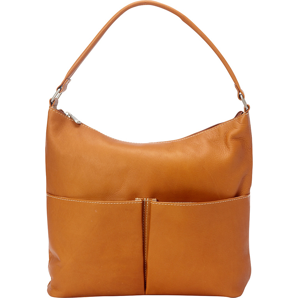 Le Donne Leather Hickory Shoulder Bag Tan - Le Donne Leather Leather Handbags - Handbags, Leather Handbags