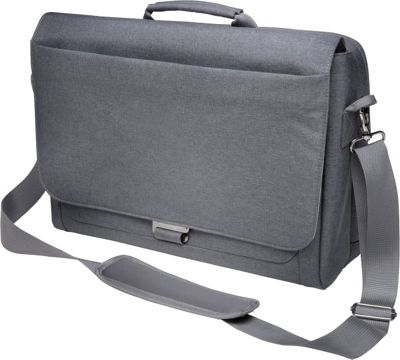 Kensington Messenger Laptop Case Cool Grey - Kensington Messenger Bags
