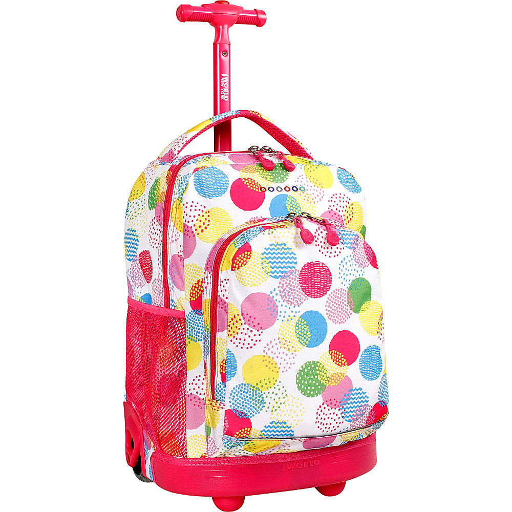 J World New York Sunny Rolling Backpack Speckle - J World New York Rolling Backpacks - Backpacks, Rolling Backpacks