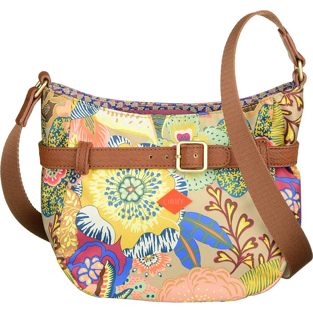 Oilily Small Shoulder Bag Nougat Oilily Fabric Handbags