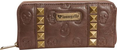 Loungefly Loungefly Skull/Pyramids Wallet Brown - Loungefly Women's Wallets