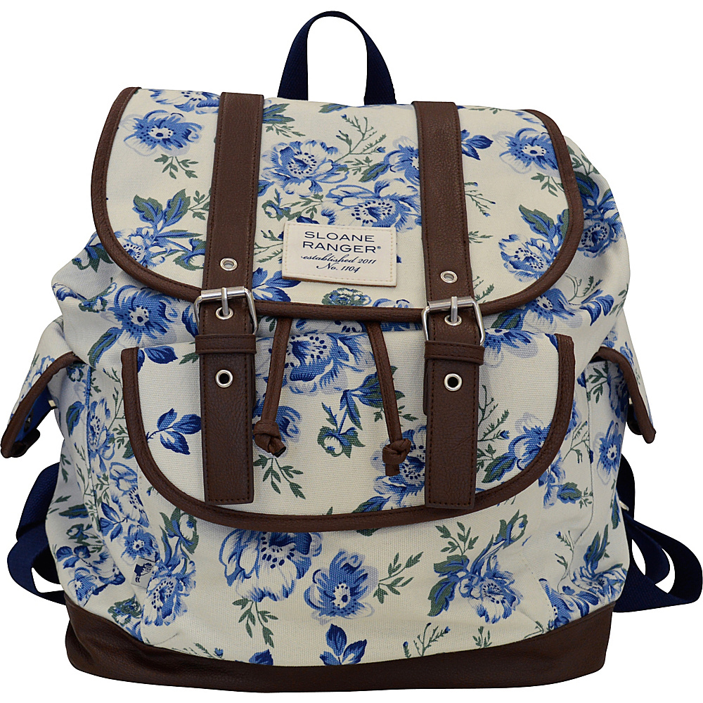 Sloane Ranger Slouch Backpack Vintage Floral Sloane Ranger Everyday Backpacks