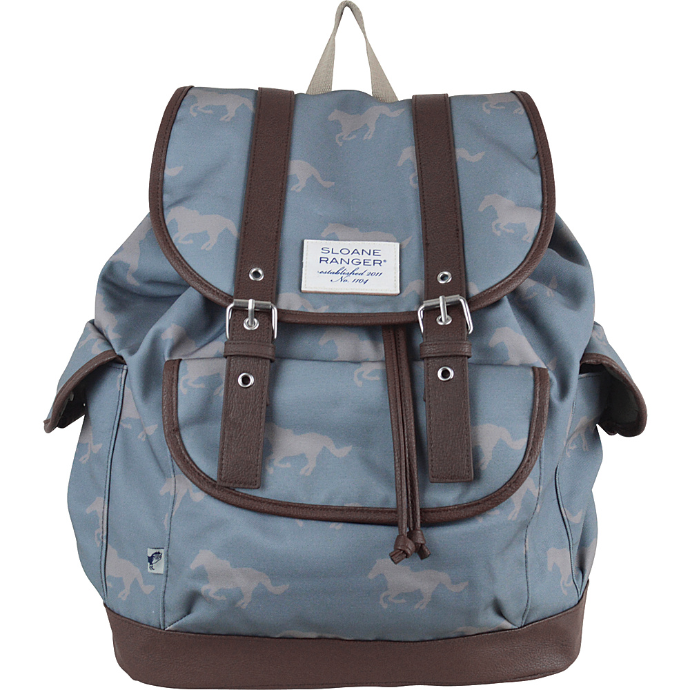 Sloane Ranger Slouch Backpack Grey Horse Sloane Ranger Everyday Backpacks