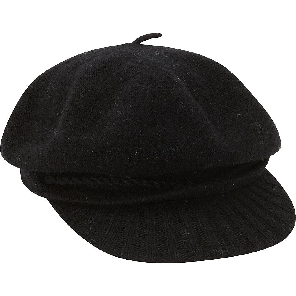 Betmar New York Faye Voluminous Cap Black - Betmar New York Hats/Gloves/Scarves
