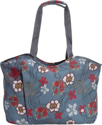 Haiku Everyday Tote River Floral Print - Haiku Fabric Handbags