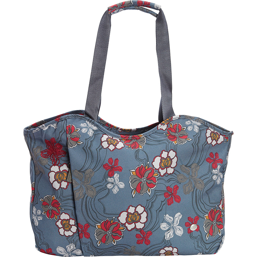 Haiku Everyday Tote River Floral Print Haiku Fabric Handbags