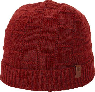 Ben Sherman Rib Knit Cuff Beanie Zinfandel - Ben Sherman Hats