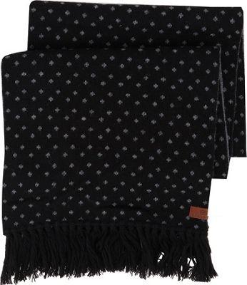 Ben Sherman Micro Dot Knit Scarf Jet Black - Ben Sherman Hats/Gloves/Scarves