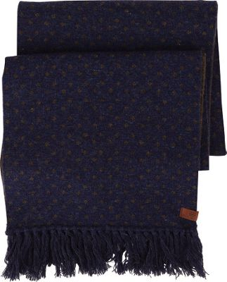 Ben Sherman Micro Dot Knit Scarf Navy Blazer - Ben Sherman Hats/Gloves/Scarves
