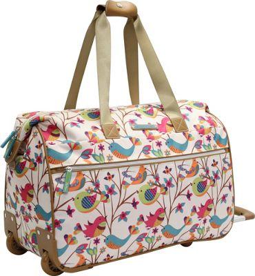 Lily Bloom Tweety Twig Wheeled Weekender Tweety Twig - Lily Bloom Softside Carry-On