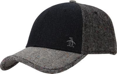 Original Penguin Tyreese Baseball Cap Black - Original Penguin Hats/Gloves/Scarves 10383639