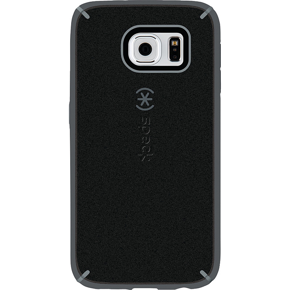 Speck Samsung Galaxy S6 Mightyshell Faceplate Black Gravel Gray Slate Gray Speck Electronic Cases