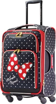 American Tourister Disney Minnie Mouse Softside Spinner 21 inch Minnie Mouse Red Bow - American Tourister Kids' Luggage