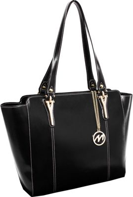 McKlein USA Alicia Tote Black - McKlein USA Women's Business Bags
