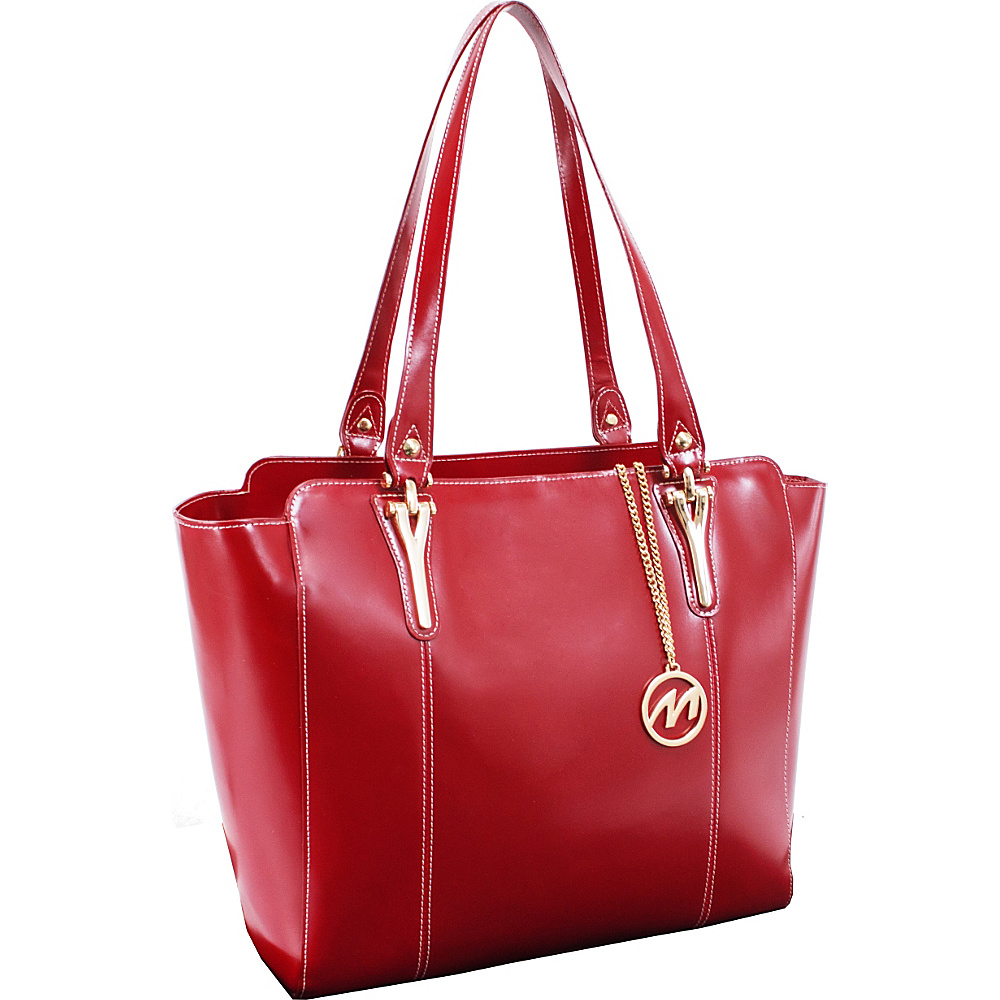 McKlein USA Alicia Tote Red McKlein USA Women s Business Bags