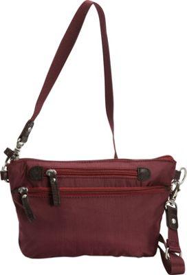 Osgoode Marley Crossbody/Waistpack Cranberry - Osgoode Marley Fabric Handbags