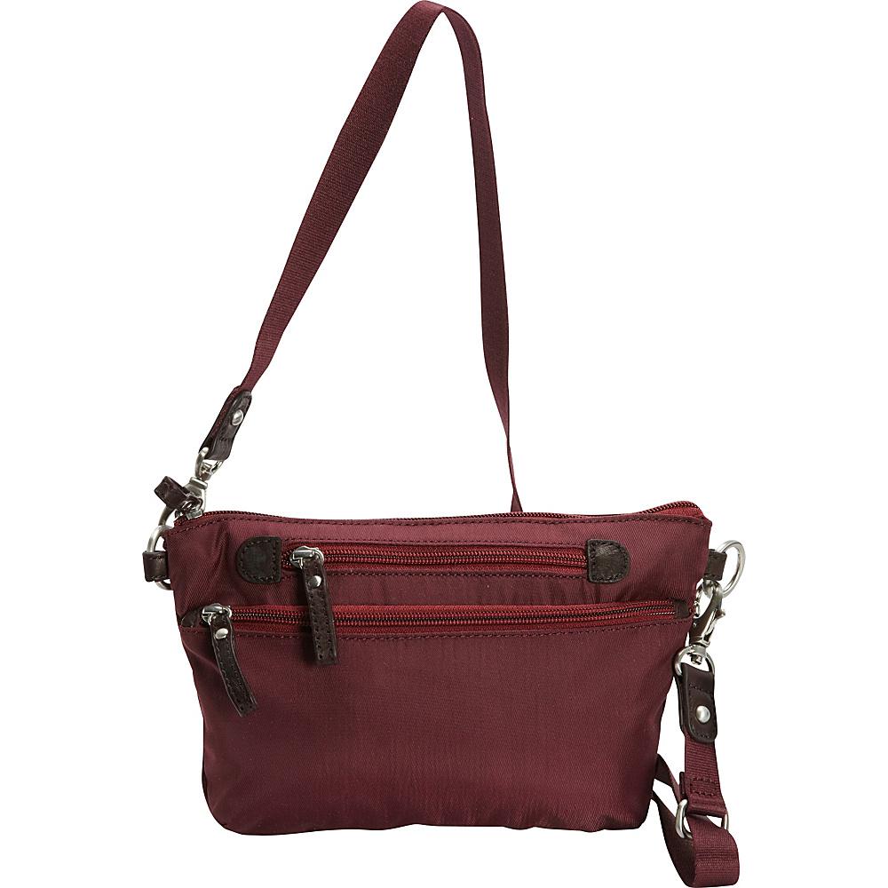 Osgoode Marley Crossbody Waistpack Cranberry Osgoode Marley Fabric Handbags