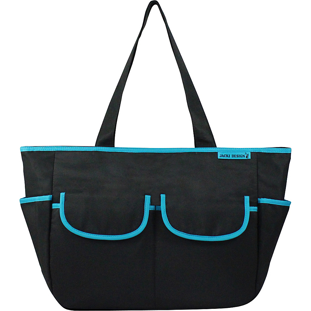 Jacki Design Fashion Diaper Bag Black Blue Jacki Design Diaper Bags Accessories