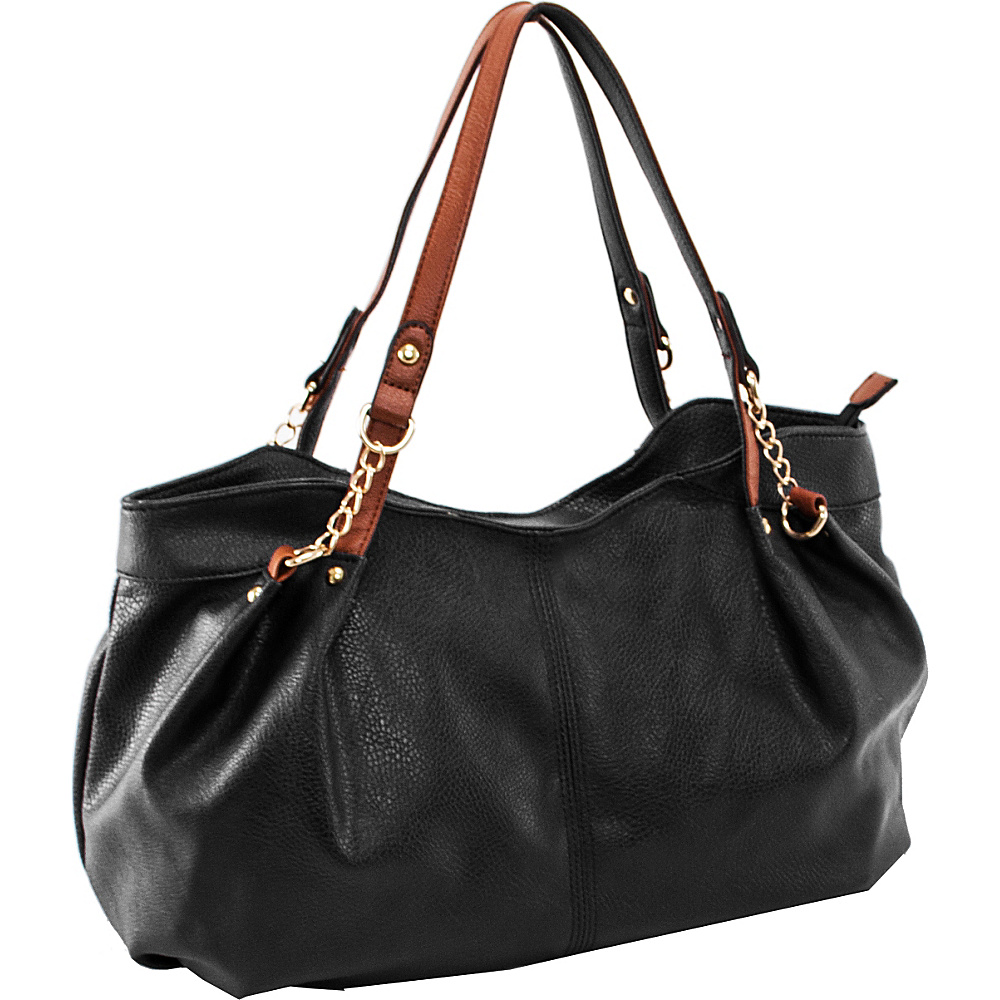 Parinda Arianna Shoulder Bag Black - Parinda Manmade Handbags