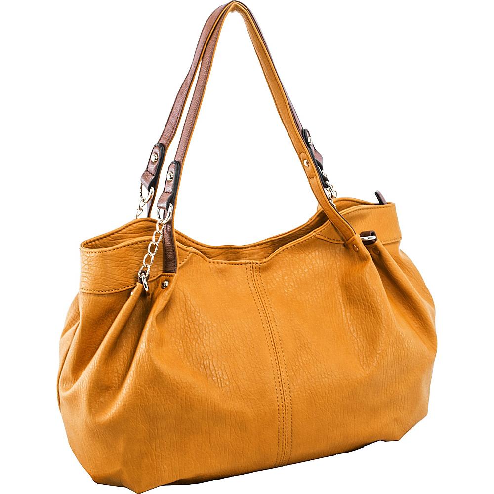 Parinda Arianna Shoulder Bag Tan - Parinda Manmade Handbags