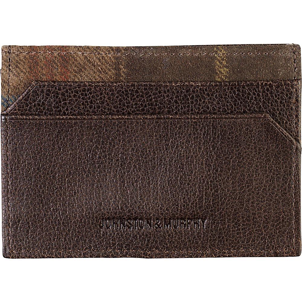 Johnston Murphy Weekender Case Brown Johnston Murphy Men s Wallets