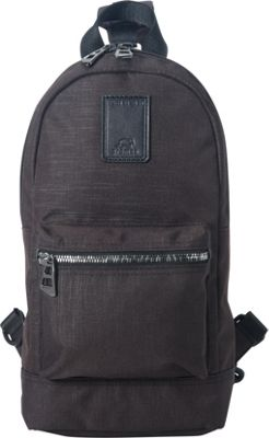 Promax Beam Sling Bag Black - Promax Fabric Handbags