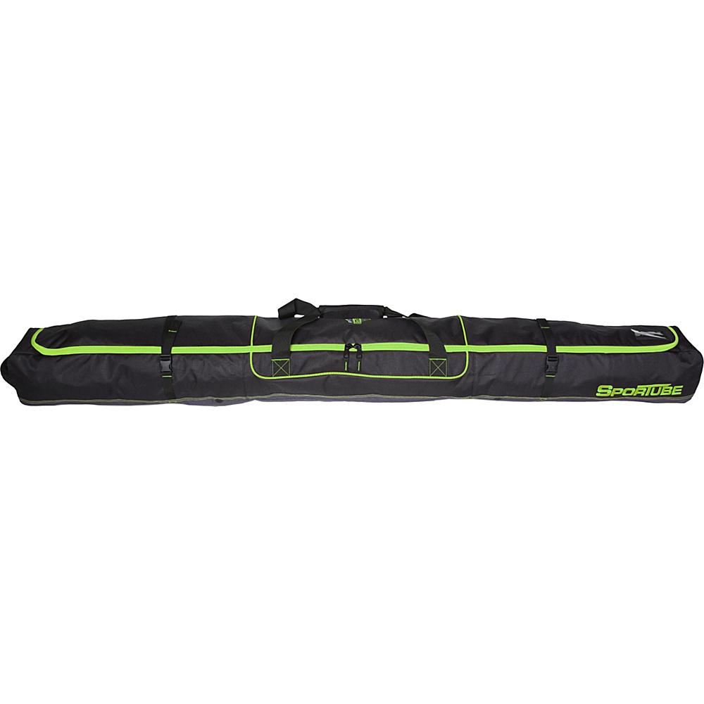 Sportube Traveler Single Ski Bag Green/Black - Sportube Ski and Snowboard Bags