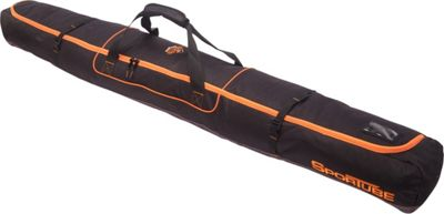 Sportube Traveler Single Ski Bag Orange/Black - Sportube Ski and Snowboard Bags
