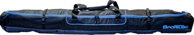 Sportube Traveler Single Ski Bag Black/Blue - Sportube Ski and Snowboard Bags
