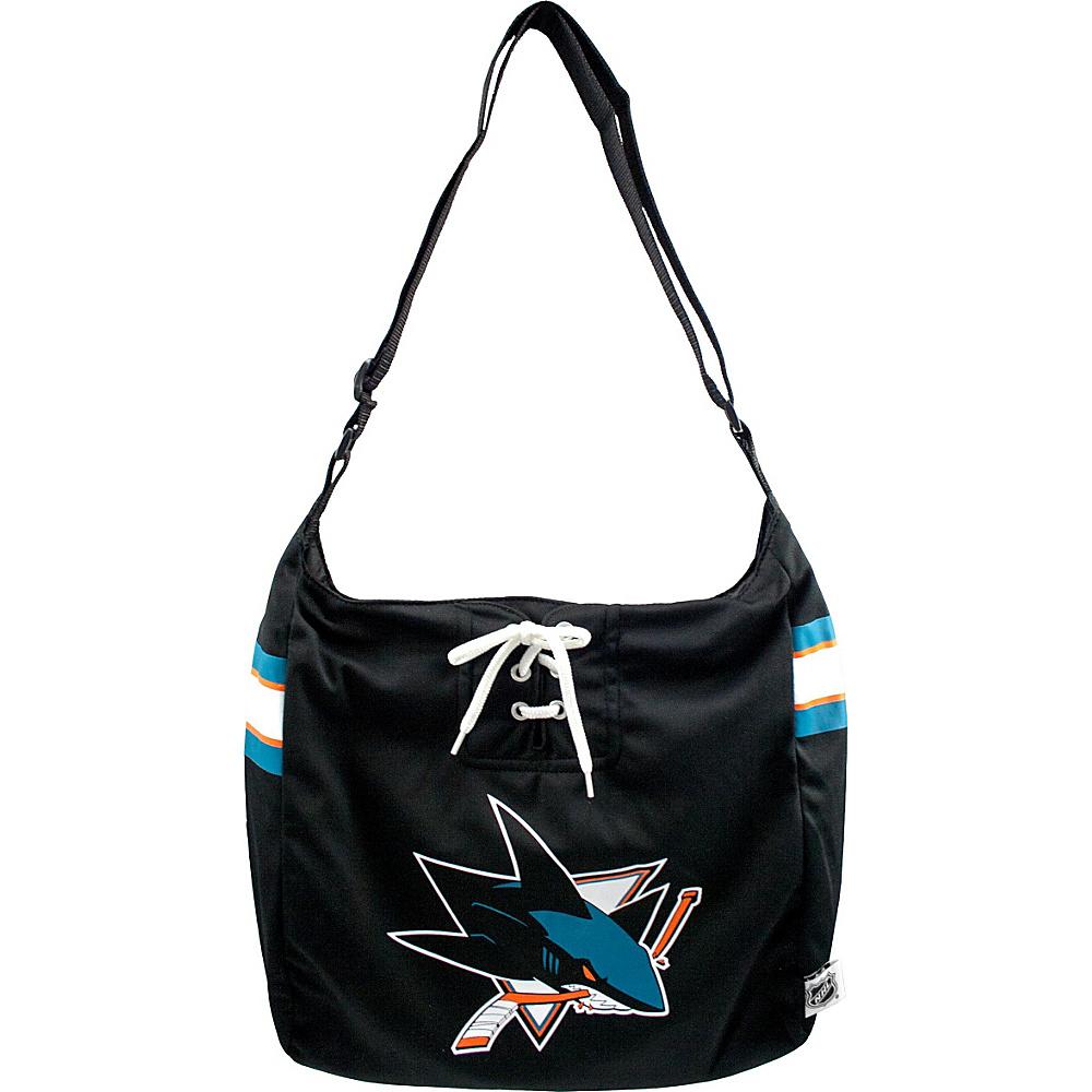 Littlearth Team Jersey Shoulder Bag - NHL Teams San Jose Sharks - Littlearth Fabric Handbags - Handbags, Fabric Handbags