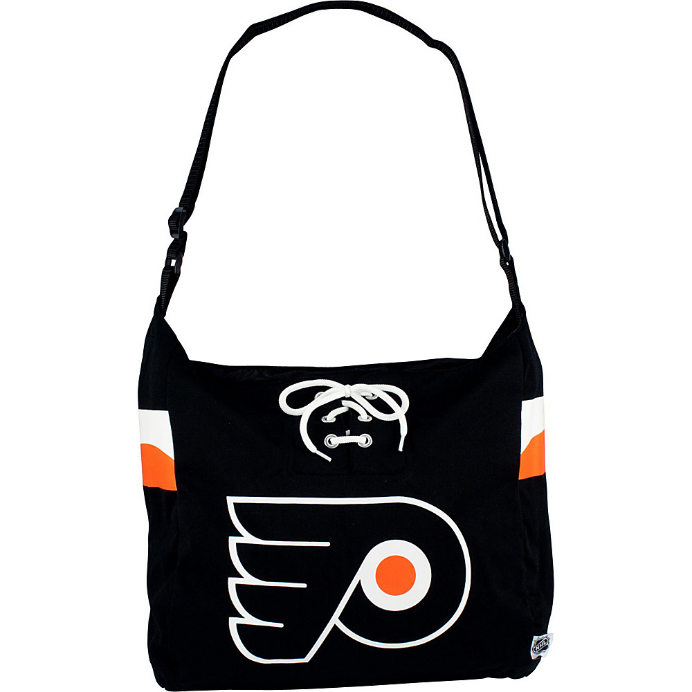 Littlearth Team Jersey Shoulder Bag - NHL Teams Philadelphia Flyers - Littlearth Fabric Handbags - Handbags, Fabric Handbags