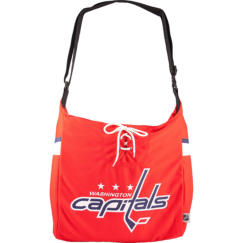 Littlearth Team Jersey Shoulder Bag - NHL Teams Washington Capitals - Littlearth Fabric Handbags - Handbags, Fabric Handbags
