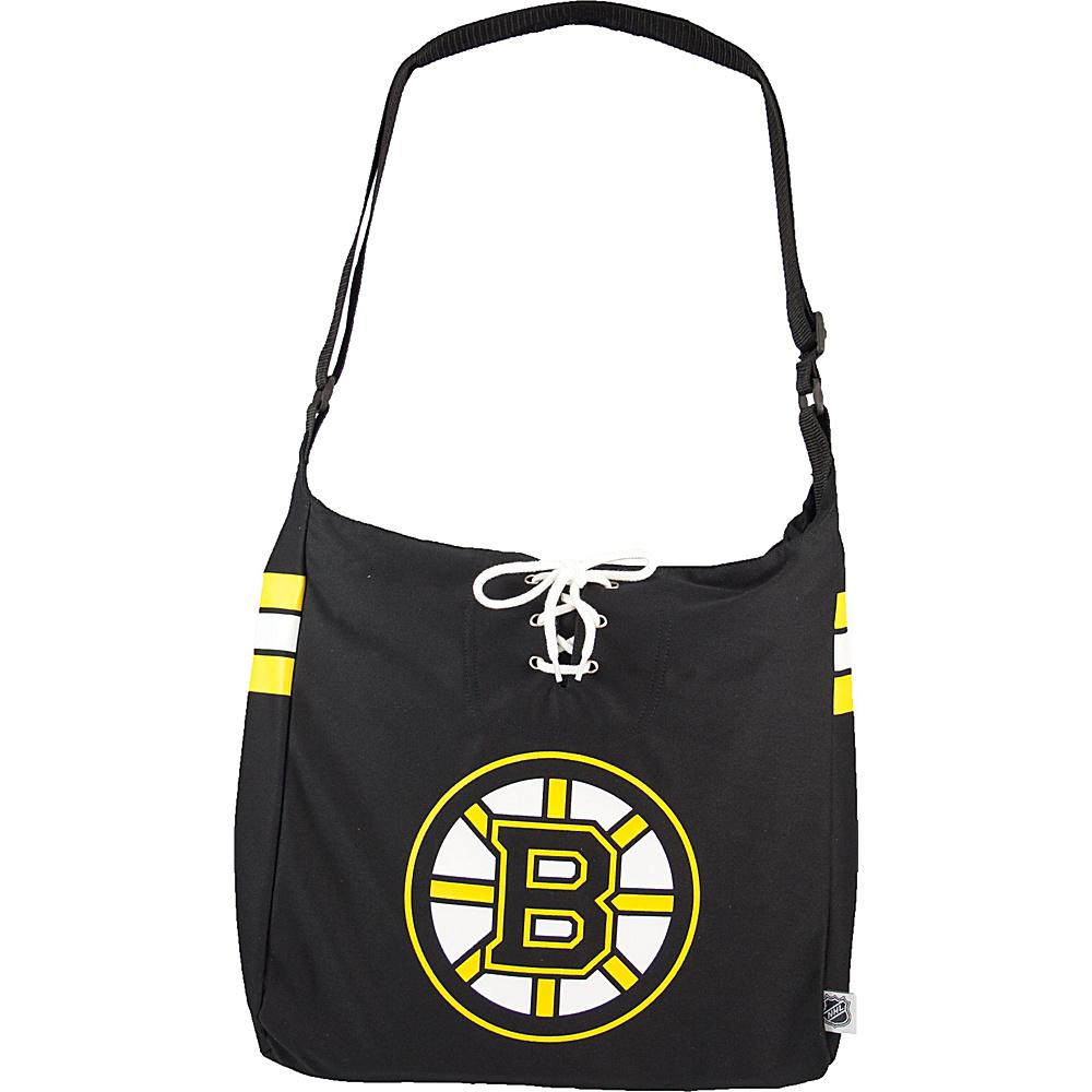 Littlearth Team Jersey Shoulder Bag - NHL Teams Boston Bruins - Littlearth Fabric Handbags - Handbags, Fabric Handbags
