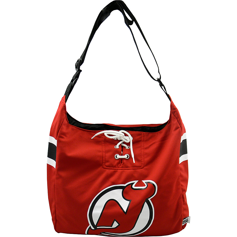 Littlearth Team Jersey Shoulder Bag - NHL Teams New Jersey Devils - Littlearth Fabric Handbags - Handbags, Fabric Handbags