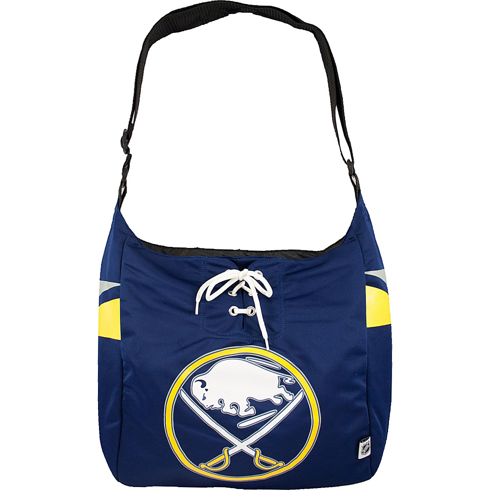 Littlearth Team Jersey Shoulder Bag - NHL Teams Buffalo Sabres - Littlearth Fabric Handbags - Handbags, Fabric Handbags