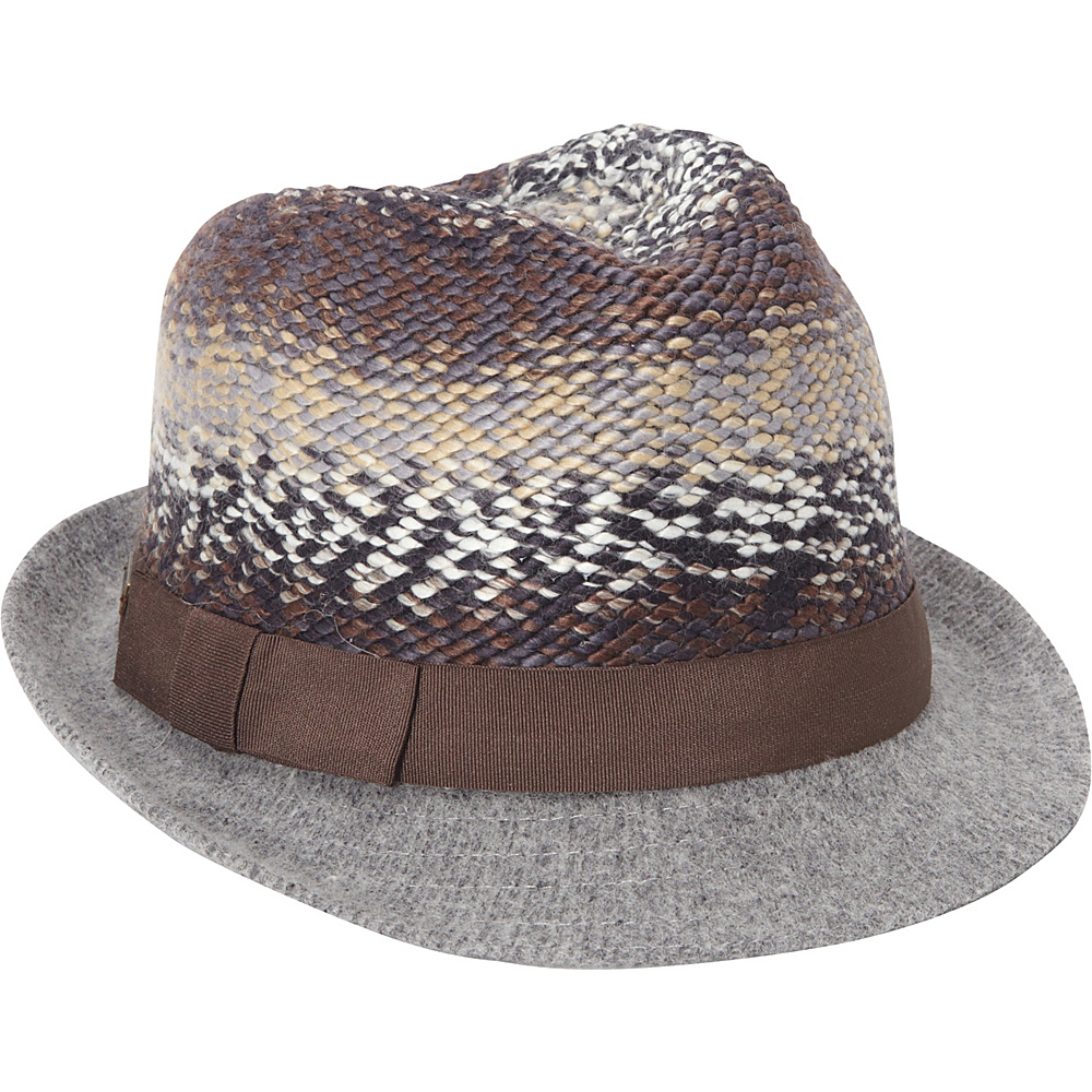 Betmar New York Scarlett Hat One Size - Grey Multi - Betmar New York Hats/Gloves/Scarves