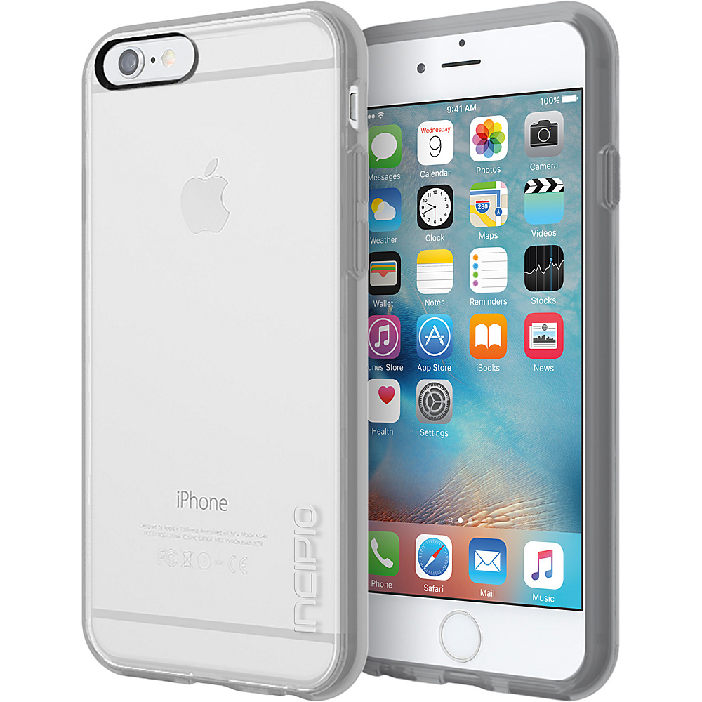 Incipio Octane Pure for iPhone 6/6s Clear/Gray - Incipio Electronic Cases - Technology, Electronic Cases