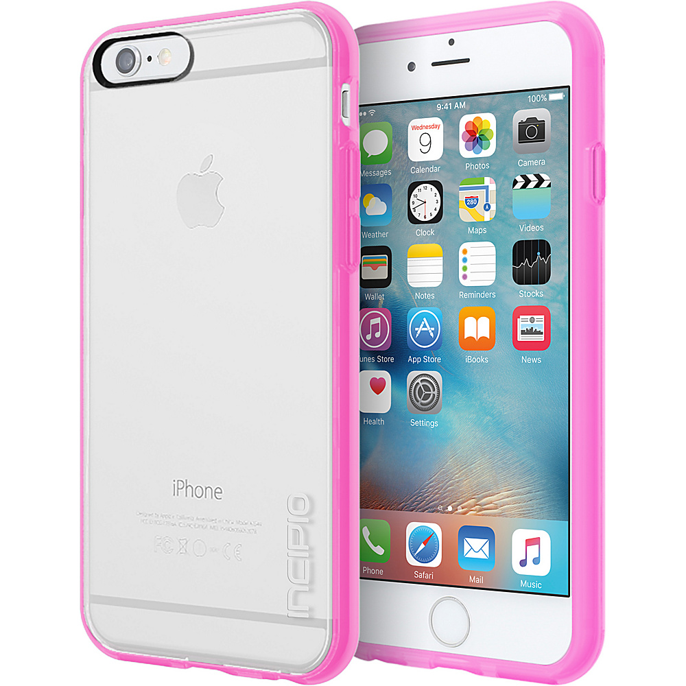 Incipio Octane Pure for iPhone 6/6s Clear/Highlighter Pink - Incipio Electronic Cases - Technology, Electronic Cases