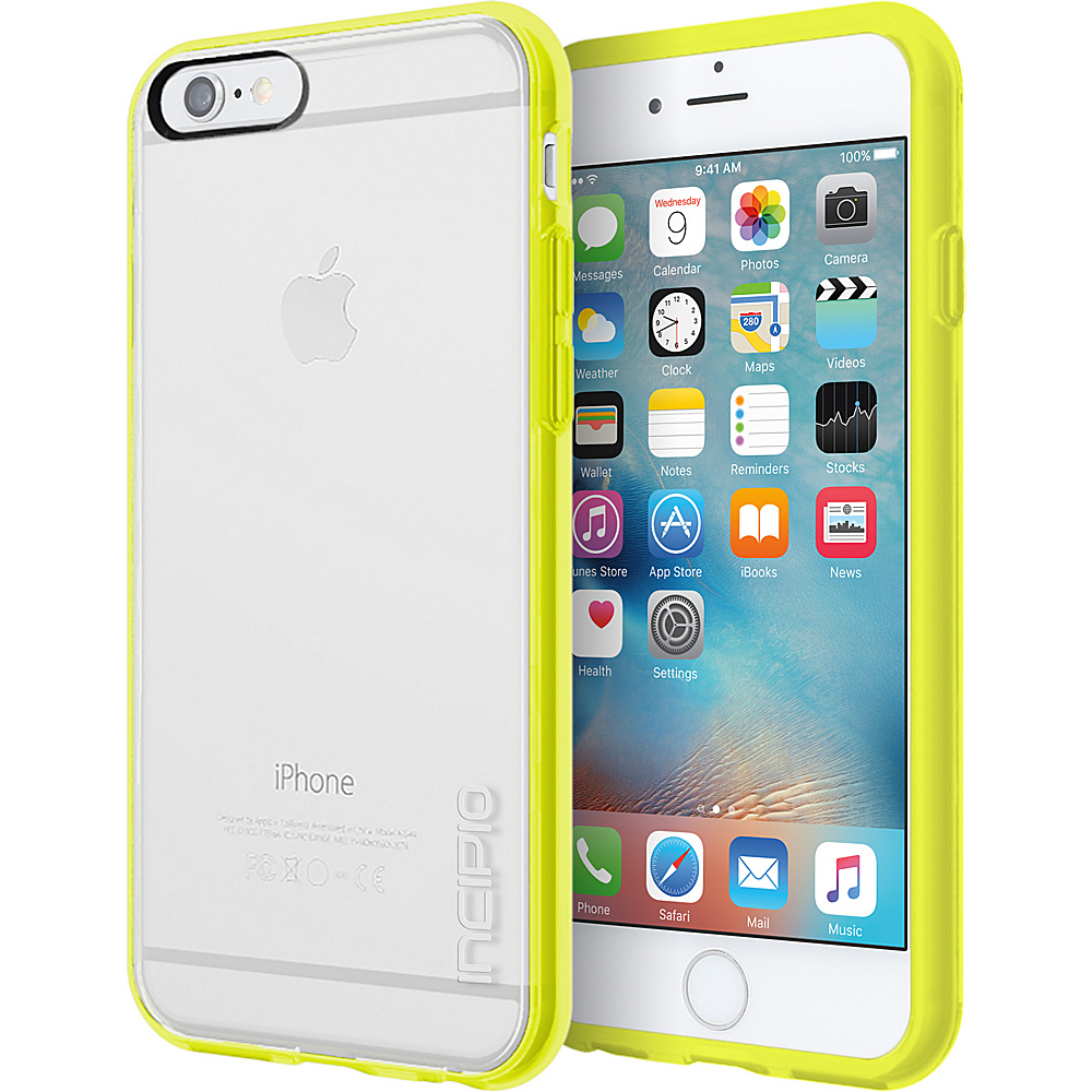Incipio Octane Pure for iPhone 6/6s Clear/Lime - Incipio Electronic Cases - Technology, Electronic Cases